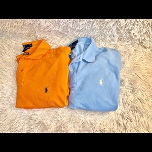 Two Ralph Lauren Polo shirt men's size XL
